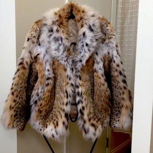 Lynx's mink coat.